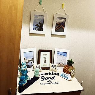 男性29歳の家族暮らし2LDK、海に関するKE-SUKEさんの実例写真