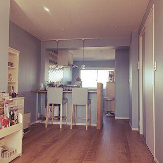 部屋全体/お気に入りタイル/リノベーション/穏やかに暮らしたい/塗装壁...などのインテリア実例 - 2017-06-19 22:54:52