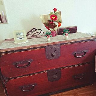 女性40歳の一人暮らし1K、和箪笥に関するNoriさんの実例写真