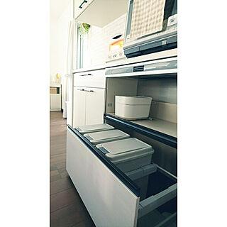 キッチン/キッチンのゴミ箱/ダストワゴン/LIXIL アレスタ/カップボード...などのインテリア実例 - 2020-10-31 20:49:33