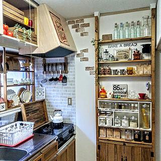 女性一人暮らし1K、キッチン周り2に関するRyoさんの実例写真