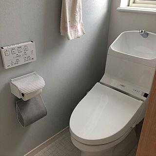 女性38歳の家族暮らし2LDK、2階トイレがメインに関するsakura2614さんの実例写真