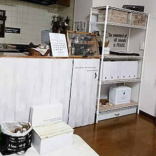 女性32歳の家族暮らし2LDK、万年カレンダー♡に関するsakiさんの実例写真