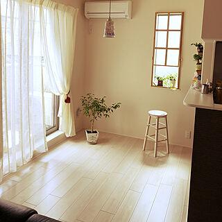 1LDK、キッチンの窓に関するhanaさんの実例写真