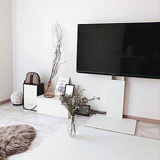 リビング/テレビボード/ナチュラル/IKEA/ドライフラワー...などのインテリア実例 - 2020-03-22 09:02:52