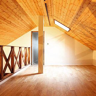 29歳の、勾配天井+ロフトに関するfukui-kensetsuさんの実例写真