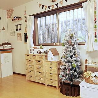 リビング/もよう替え/クリスマスツリー/クリスマス/Salyut!...などのインテリア実例 - 2017-12-09 10:13:28