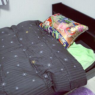 、収納付きベッドに関するさんの実例写真