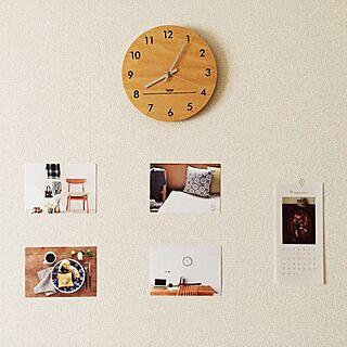 壁/天井/カレンダー/ポストカード/時計/ナチュラル...などのインテリア実例 - 2015-09-04 11:12:42