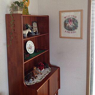 女性家族暮らし4LDK、自作刺繍に関するtomoさんの実例写真