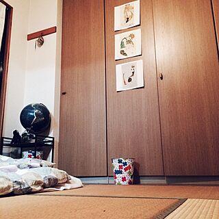 部屋全体/和室/畳/地球儀/エゴンシーレ...などのインテリア実例 - 2014-08-21 01:11:45