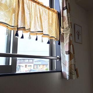 女性家族暮らし3K、イエローに関するkurokoさんの実例写真