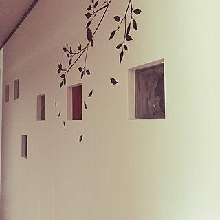 壁/天井/廊下の壁/ウォールステッカー/ガラスブロックのインテリア実例 - 2014-10-11 16:05:17