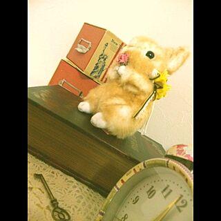 My Favorite/棚/洋書/雑貨のインテリア実例 - 2013-04-10 16:50:06