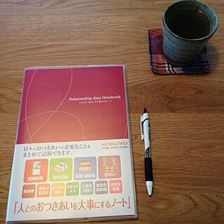 机/本日の朝活のインテリア実例 - 2013-10-12 07:10:37