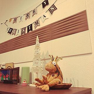 女性2歳の家族暮らし3LDK、幸運のカエルに関するYtRiさんの実例写真
