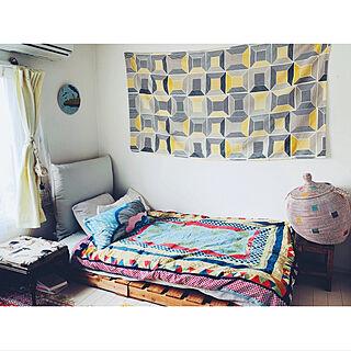 IKEA/海外インテリア/映画のインテリアに憧れる/パレットDIY/ベッド周りのインテリア実例 - 2020-05-04 16:24:39