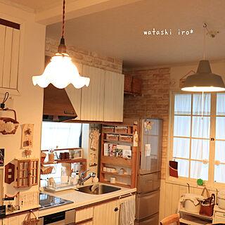 キッチン/明かり/築50年以上/理想を求めて/DIY...などのインテリア実例 - 2019-08-07 13:24:52