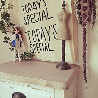 机/トルソー/パナホーム /リカちゃん♡/TODAY'S SPECIAL...などのインテリア実例 - 2015-01-13 16:51:15