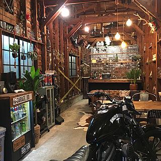 Harley-Davidson (ハーレーダビッドソン)の人気の部屋