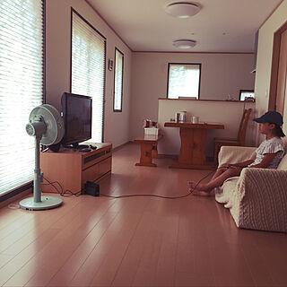 リビング/次女/扇風機/カインズホーム/夏...などのインテリア実例 - 2018-07-16 12:43:34