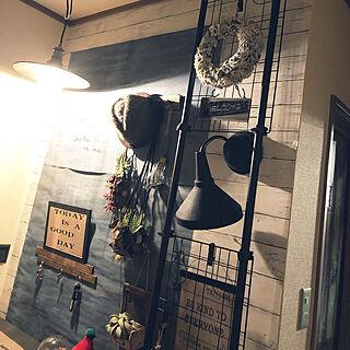 玄関/入り口/RC富山/壁DIY/ミンネ販売中/セルフリノベーション...などのインテリア実例 - 2017-12-13 21:21:17