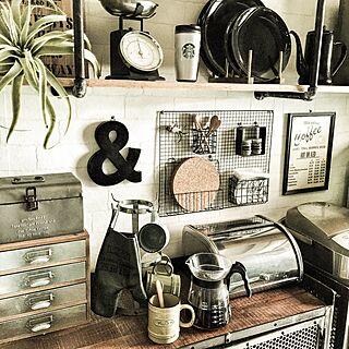 セリア/megちゃんのミトン♡/コーヒー/NYスタイル/DIY...などのインテリア実例 - 2015-06-14 11:06:52