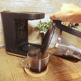 朝のコーヒータイム/STAN./象印/おうちカフェ/コーヒータイム...などのインテリア実例 - 2019-09-27 07:59:57