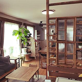 女性家族暮らし、学習机 DIYに関するbambi_eyeさんの実例写真