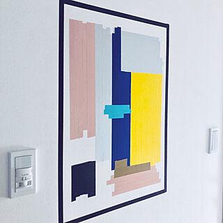 女性2DK、黄色の壁に関するYYさんの実例写真