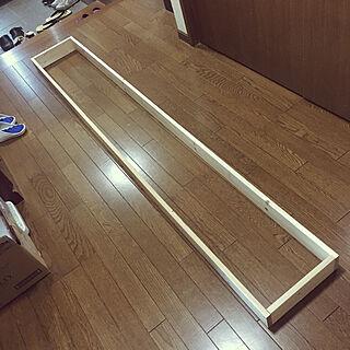 男性51歳の家族暮らし、靴のたなDIYに関するToruさんの実例写真