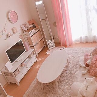 キャンドゥ/ドライフラワー/ソファ/ピンクがすき♡/3COINS...などのインテリア実例 - 2020-02-23 14:17:05