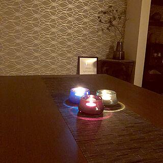 女性家族暮らし4LDK、手作りキャンドル♡に関するMamiyさんの実例写真