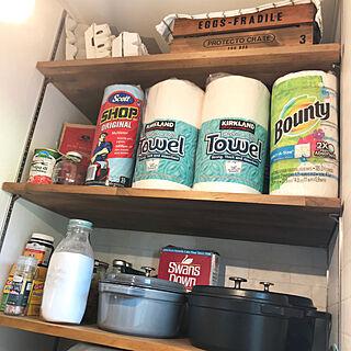 木箱/棚板/ストウブ/トマト缶/たまごケース...などのインテリア実例 - 2018-06-24 23:17:00