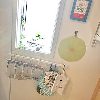 女性54歳の家族暮らし4LDK、キッチンの壁に関するsuzyさんの実例写真