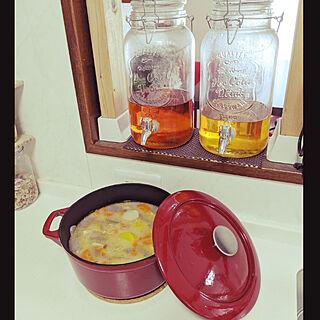 キッチン/HOME COORDY/ホームコーディ/イオン・モニター/豚汁...などのインテリア実例 - 2019-11-07 19:51:05