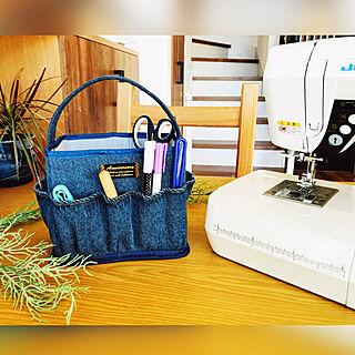 シンデレラフィット/作業効率up/裁縫箱収納/裁縫箱リメイク/おうち時間...などのインテリア実例 - 2021-01-20 13:00:32