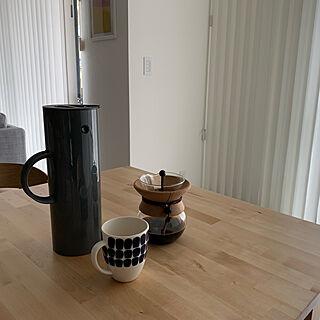 女性1歳の家族暮らし、コーヒー時間に関するReiさんの実例写真