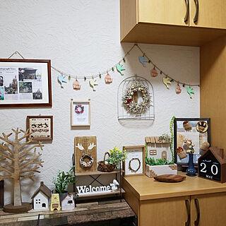 女性42歳の家族暮らし4LDK、ナチュラルキッチンの雑貨に関するtwinsさんの実例写真