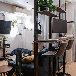 部屋全体/植物のある生活/ねこのいる暮らし/ラブリコでDIY/いぬと暮らす...などのインテリア実例 - 2021-03-04 23:56:09