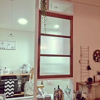 キッチン/IKEA/seria/そうめん箱リメイク/ModernBlack&White...などのインテリア実例 - 2014-03-20 17:38:15