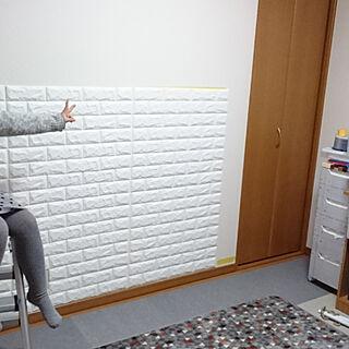 女性39歳の家族暮らし3LDK、加湿器 しずくに関するkaimeimamaさんの実例写真