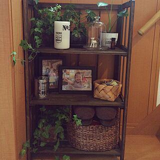 植物/ステンシル/セリア/アロマディフューザー/無印良品...などのインテリア実例 - 2015-05-04 16:55:04