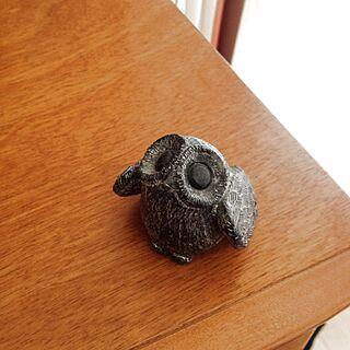 男性45歳の家族暮らし4LDK、動物型グッズに関するdicekbeetleさんの実例写真