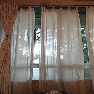 32歳の同棲2DK、社宅の窓からに関するchocolayさんの実例写真