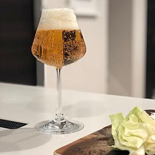 キッチン/ビール/バカラのグラス/バカラ/至福の時間...などのインテリア実例 - 2019-01-31 22:45:29
