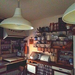 キッチンカウンターDIYの人気の写真(RoomNo.2484887)