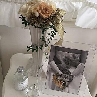 女性43歳の1R、花台に関するkirakiraさんの実例写真