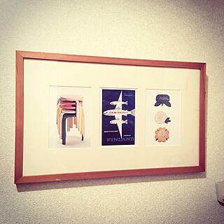 玄関/入り口/フィンランド/ポストカード/アート/ナチュラルインテリア...などのインテリア実例 - 2017-01-29 09:01:17