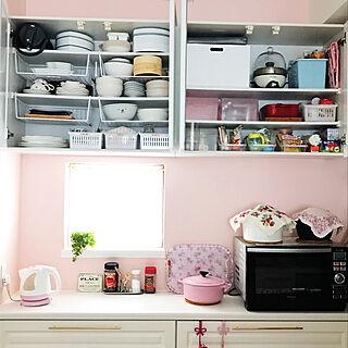 女性家族暮らし4LDK、白い食器に関するru-tiaraさんの実例写真